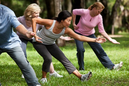 tai chi, proper diet and exercise for managing Parkinson's Disease